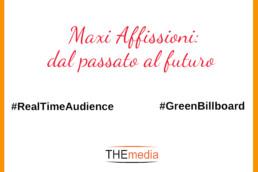 Maxi affissioni: dal passato al futuro